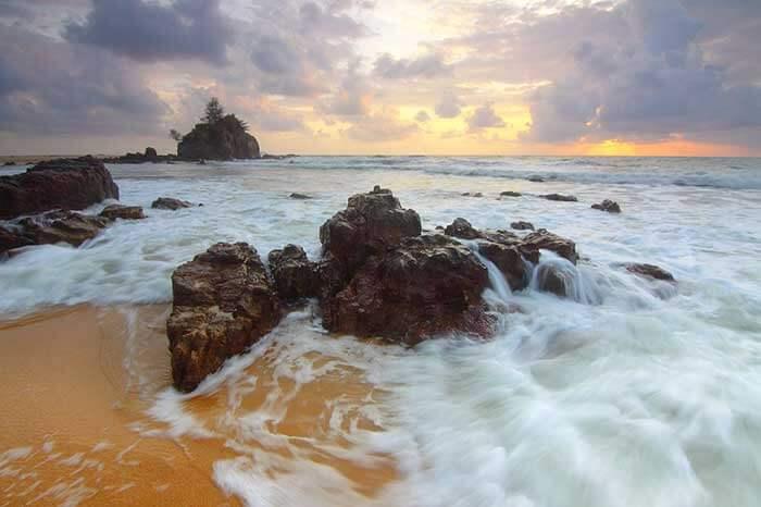 Pristine Beaches of Malaysia.