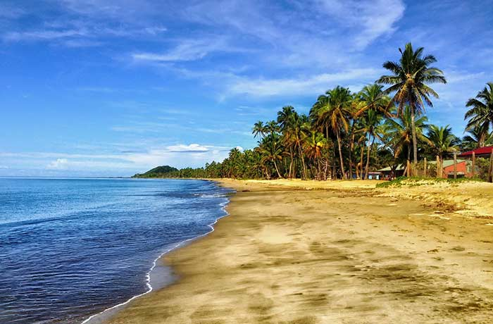 Beaches of Fiji.
