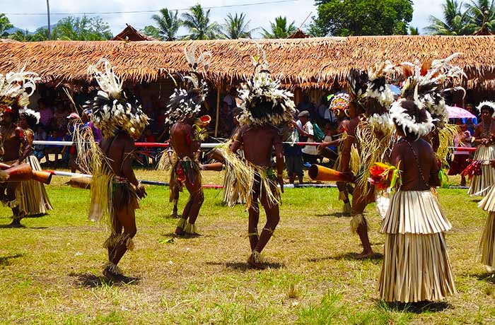 Tribal celebration, Papua New Guinea.