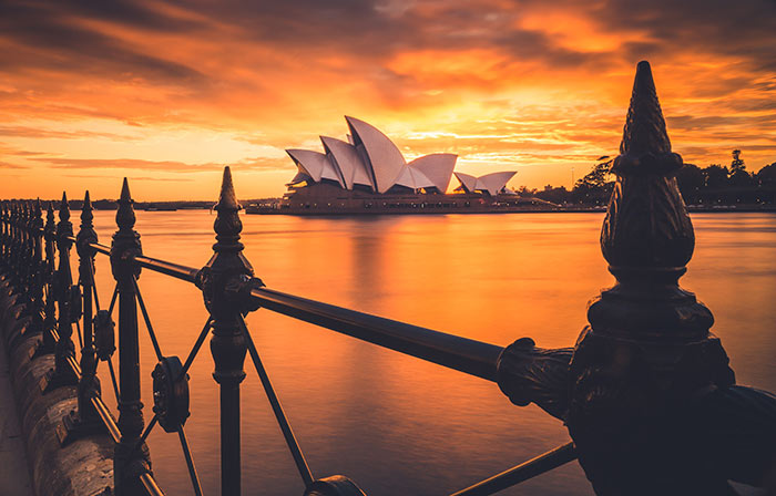 Sydney Opera House, Sydney Harbour, Australia.