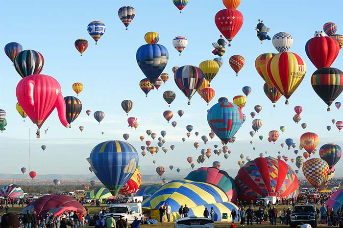 Albuquerque International Balloon Fiesta, USA.