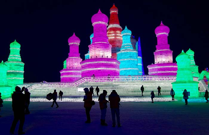 Harbin Ice Festival, China.