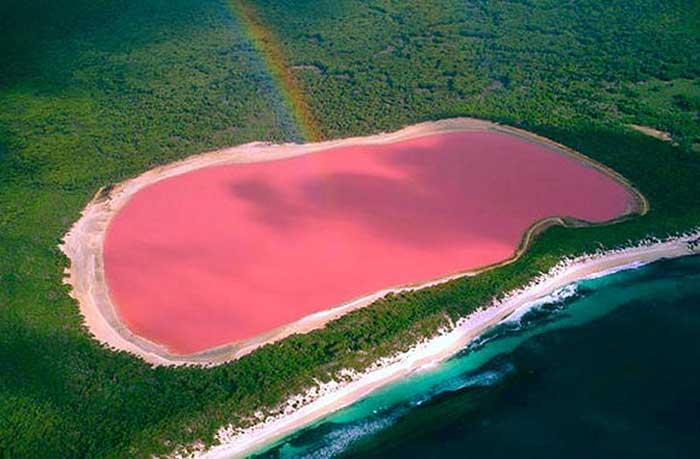 Lake Hillier, Western Australia.