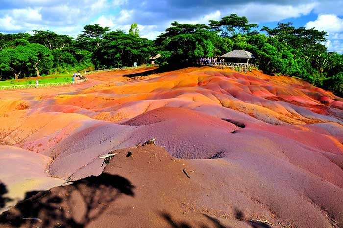 Seven Coloured Earths, Mauritius.