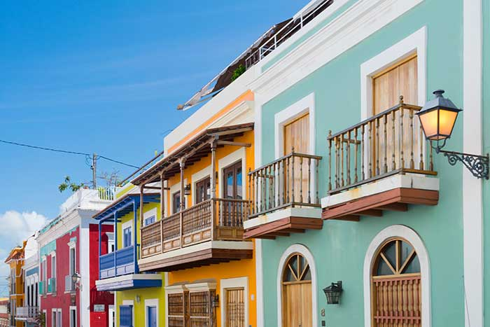 The colours of Old San Juan, San Juan, Puerto Rico.