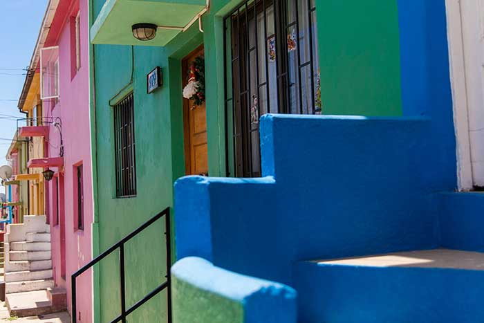 Colours of Valparaiso, Chile.