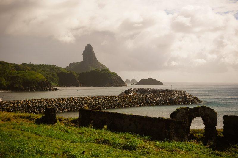 Coastline of Fernando de Noroha